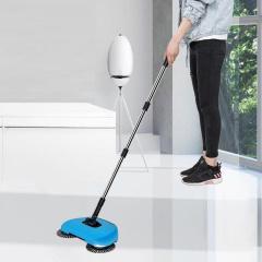 扫地机手推式吸尘器家用软扫把簸箕套装组合魔法扫帚魔术笤帚神器颜色随机