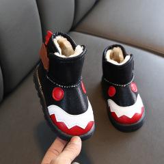 儿童雪地靴2019年秋冬女童卡通靴子男童防滑童鞋保暖靴学生宝宝鞋