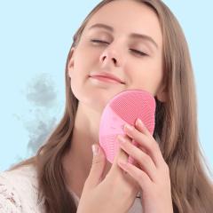 璐瑶电子美容仪粉色 无线充电洁面仪 亮肤嫩白 深层清洁 声波震动洗脸仪器洗面仪LY9125CD