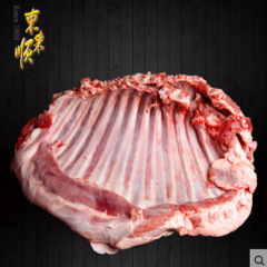 东来顺羊肋排1000g新鲜羔羊脊骨羊蝎子羊排火锅烧烤羊肉