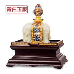 宫廷玉器《太和宝象》青白玉版