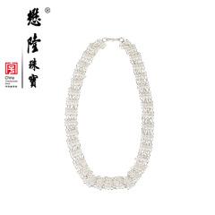 懋隆S925银花丝项链