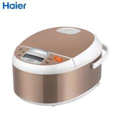 海尔(Haier)电饭煲HRC-FD3018金色 智能电脑控制 LED指示灯显示流线型外观 电饭锅