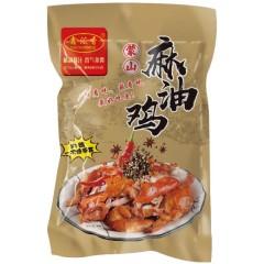 【地方美味】山东蒙山麻油鸡 600g*3袋(每只都是整鸡 拒绝拼装)