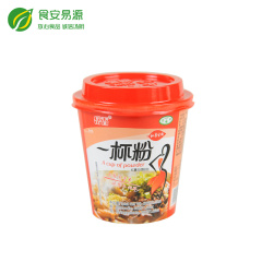 一杯粉 方便粉丝 780g(12杯) 箱装  每时每刻品尝幸福滋味 早餐有营养 晚餐不怕胖 清真食品