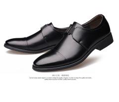 俊斯特四季款经典男士皮鞋正装商务男鞋绅士套脚真皮皮鞋