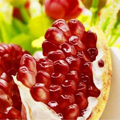 【新鲜水果】突尼斯软籽石榴 5斤装 (6-9个)
