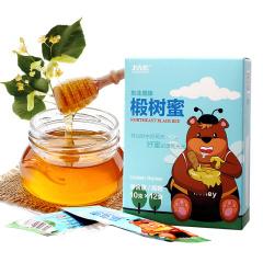 【中国农垦】北大荒 东北黑蜂椴树蜜120g*2(便携装条蜜)