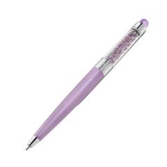 施华洛世奇Swarovski浅紫色合成水晶圆珠笔触控笔5034368