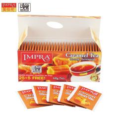 斯里兰卡原装进口 IMPRA 英伯伦焦糖味调味茶(2g*30袋)60g