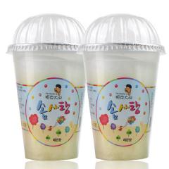 韩国进口帕克大叔柠檬味棉花糖2盒装