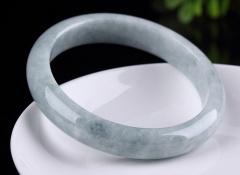 琳福珠宝  翡翠手镯A货天然玉石玉镯子缅甸玉镯