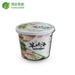 原味羊肉汤 方便速食桶装粉丝 108g×12桶箱装 清真食品