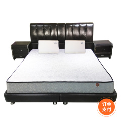 DELANDIS真皮软床1.8米订金 货号121059