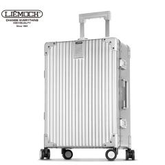 利马赫/liemoch爱勒智能拉杆箱铝镁合金行李箱万向轮男女旅行箱