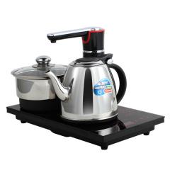 欧博(OPO)S203 电热水壶 自动上水烧水壶电茶壶泡茶机茶盘茶具套装
