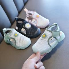 儿童花朵凉鞋2020年夏季新款淑女女童鞋沙滩洞洞鞋防滑男童鞋休闲