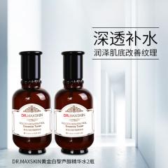 DR.MAXSKIN黄金白黎芦醇精华水 140ml*2瓶