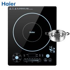 海尔(Haier)电磁炉 火锅炉 触屏操控 2100W 6大专业火锅功能 C21-A2201