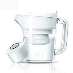 3M 家用直饮滤水净水壶净水杯WP6000N 白