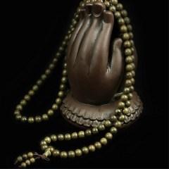 琳福珠宝   阴沉木金丝楠木手串108颗念珠佛珠手串
