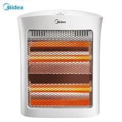 美的 取暖器电暖器电暖气家用即开即热速暖小太阳远红外倾倒断电