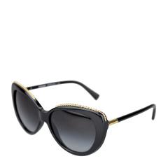 COACH/蔻驰 女士黑色镶嵌合金镜框时尚太阳镜 0HC8157 500211 56