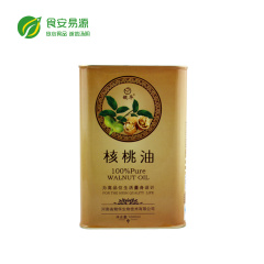 冷榨食用油高含维婴幼儿孕妇健康油出口欧美1000ml核桃油