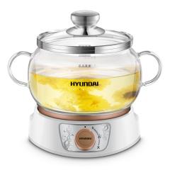 韩国现代HYUNDAI家用玻璃慢炖锅全自动煲汤煮粥煎药膳养生电炖盅QC-YS1503