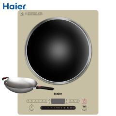 海尔(Haier)电磁炉电炒灶电磁灶爆炒炉2200W火力滑控调节黑晶聚能凹面加热