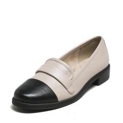 爱柔仕(AEROSOLES)休闲时尚深口羊皮平跟乐福女单鞋1916101T01