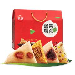 盈香悦礼粽子礼盒100g4种口味新鲜组合