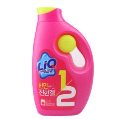 韩国原装进口爱敬全新升级版LIQ洗衣液2.4L