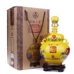 52度五粮液集团华彩人生富贵王 浓香型白酒2.5L