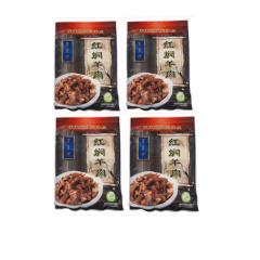 东来顺红焖羊肉熟食即食200g*4火锅食材内蒙古红烧羊肉汤