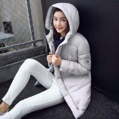 丁摩新款棉服休闲保暖棉衣羽绒棉大衣8628