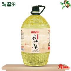 纳福尔野山茶油5000ml山茶油茶籽油茶树油物理压榨食用油