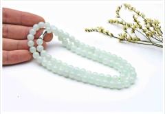 琳福珠宝   吉祥如意老坑A货翡翠玉石项链