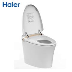 海尔(Haier)智能马桶无水箱即热式一体式自动冲水智能??芈硗白闫?H2 400坑距