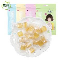 康辉蜜语茶坊糖果21g*12袋乌龙茶冰红茶绿茶薄荷清茶味小包装硬糖