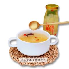 王小珥 鲜炖银耳羹 198g*6瓶 无添加新鲜红枣枸杞银耳即食