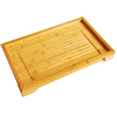 金镶玉 茶盘茶托 中平板 竹木实木功夫茶具茶道配件茶海