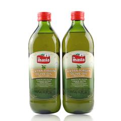 西班牙原装进口欧蕾特级初榨橄榄油1L两瓶装