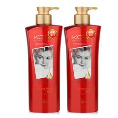 韩国原装进口爱敬可希丝沙龙多效护理护发素2瓶装
