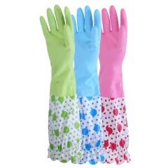 加绒橡胶手套 2双