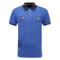 皇家棕榈马球俱乐部 男短袖商务休闲POLO衫翻领男士T恤13528109