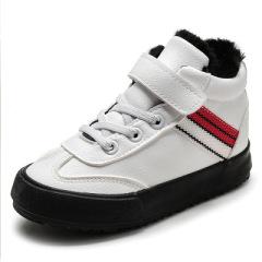 2019新款橡胶防滑耐磨棉鞋 纯色魔术贴潮流童鞋 时尚休闲轻便童鞋