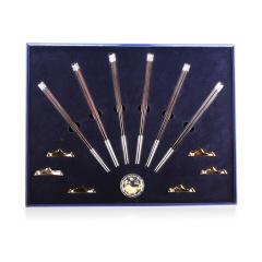 花好月圆《喜福筷到》银筷珍藏 货号124268