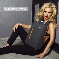 安特丽时尚新款双肩包男女商务背包轻便休闲电脑包旅行出游行李包