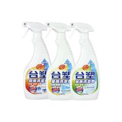 台塑生医 家庭清洁优惠3瓶级(厨房、卫浴、玻璃)